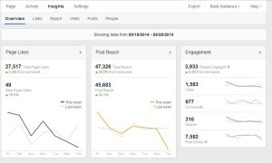Your Facebook analytics should be