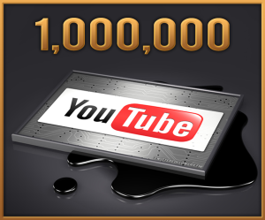 A million views for your YouTube channel is probably more achievable that a single video with 1 million views.