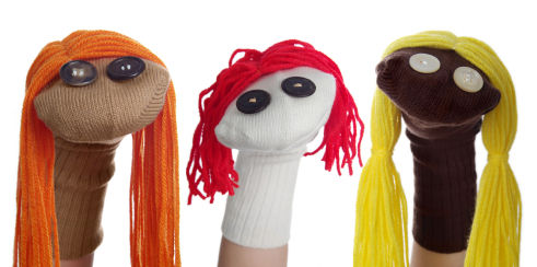 Please don't be a sock puppeter with your band.