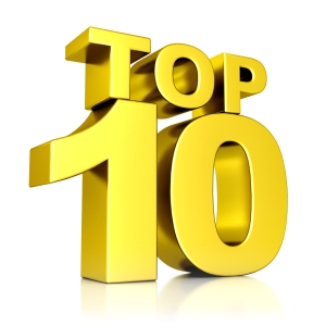 Everyone loves a Top 10.