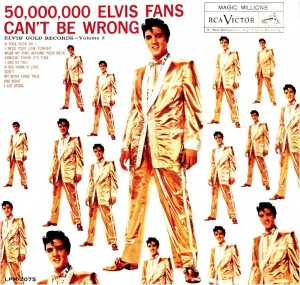 The title of this Elvis album is 'social proofing'!