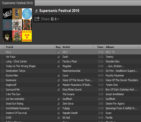 Spotify Playlists are a great way to put your music  'alongside' major artists.