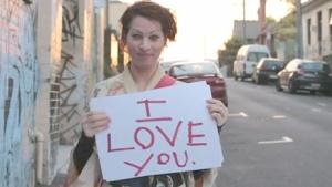 Amanda's declaration to her fans.