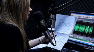 Reading from a script will definitely help your presentation style when podcasting.