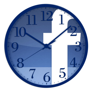 To get the biggest potential audience, 'time' your Facebook posts.
