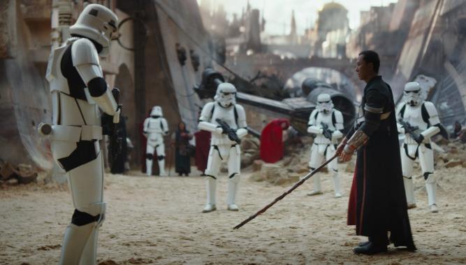 Rogue One: A Star Wars Story(Donnie Yen)  Ph: Film Frame  ©Lucasfilm LFL