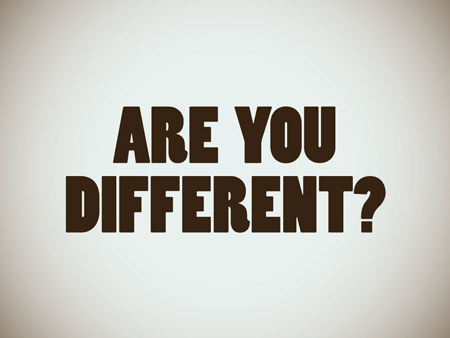 are-you-different