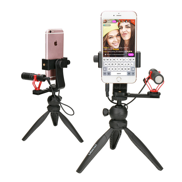 Ulanzi-Phone-Live-Stream-Tripod-Kit-Smartphone-Tabletop-Tripod-Mount-Stand-w-Microphone-Cold-Shoe-for.jpg_640x640
