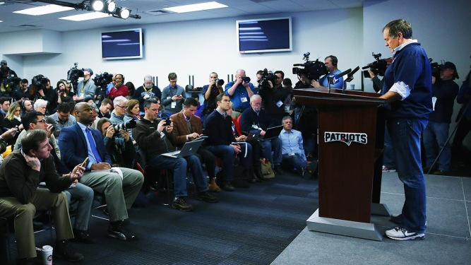 New England Patriots Head Coach Bill Belichick Press Conference